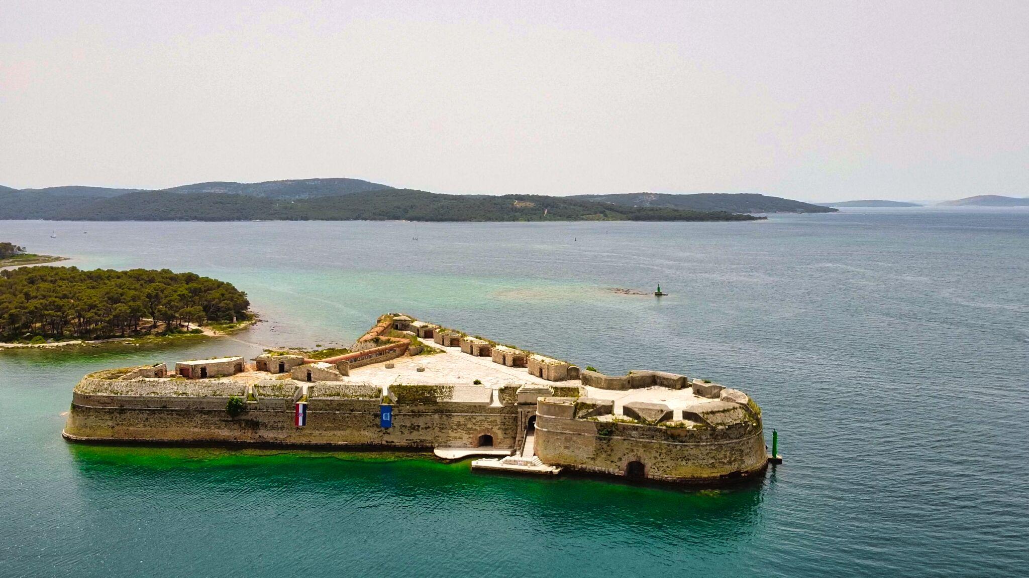Bikademy Sibenik St Nicholas Fortress 2 Min - Bikademy