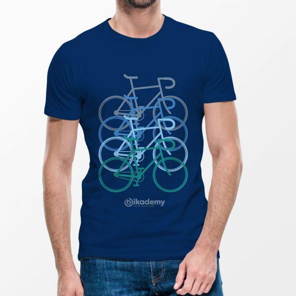 Bikademy Majica Color Bikes - Bikademy
